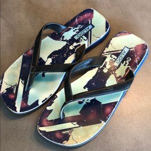😎 Aldo leather thing sandal